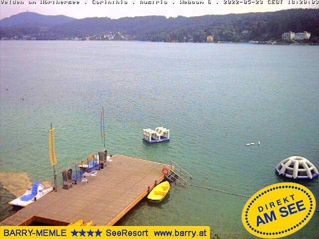 Velden webcam - Velden 4 webcam, Carinthia, Villach-Land